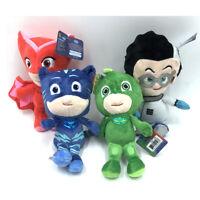 PJ Masks Catboy Owlette Gekko Romeo Plush Dolls Stuffed Animal Toy Gift 4pcs Set