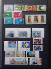 San Marino 1974 2004 issues UPU Motorcycle Art Boules Basketball UNICEF etc MNH