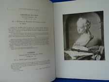 COLLECTION FRANCOIS FLAMENG 1919 CATALOGUE DE VENTE TABLEAUX PASTELS DESSINS
