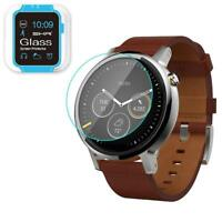 2X Tempered Glass Screen Protector Shield Guard for Moto 360 42&46 mm (2nd Gen)