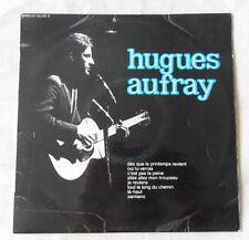 33 TOURS 25 cm HUGUES AUFRAY DES QUE LE PRINTEMPS REVIENT BARCLAY 80 223 S 1964