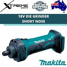 Makita Cordless Die Grinder Short Nose Skin 18V 8mm