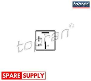 RELAY, GLOW PLUG SYSTEM FOR AUDI SEAT SKODA TOPRAN 107 258