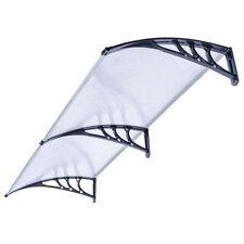 ALEKO Polycarbonate Outdoor Window Door Canopy 40 x 80 Inches Transparent Cover