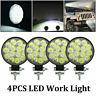 4x Round 42W LED Work Light SPOT Lights For Truck Off Road Tractor ATV 12V 24V