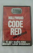 NEW Barry's Bootcamp Hollywood Code Red Top Secret Workout Exercise DVD