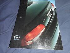1998 Mazda Protege 626 Sedan USA Market  Brochure Catalog Prospekt