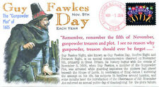 """COVERSCAPE computer designed """"Guy Fawkes Day"""" (November 5th) event cover"""