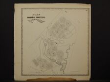 New York, Jefferson County Map, 1864 North Watertown, Brookside Cemetery N4#33