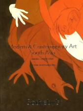 Sotheby's Contemporary India South Asia Art Souza Husain Auction Catalog 2008