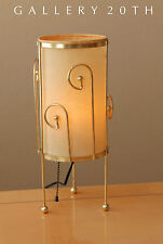 RARE! MID CENTURY MODERN ATOMIC TRIPOD LAMP! Weinberg 50's Light Eames Vtg Brass