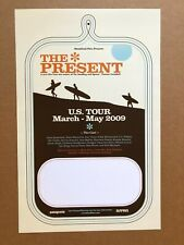 Thomas Campbell - The Present - US TOUR Poster/Flyer