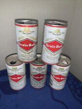 Beer Cans Grain Belt Heileman Brewing Co Nice Lot Of 5 Beer Cans