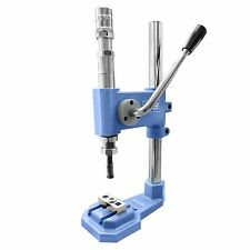 Universal stroke press for grommets, rivets, press fasteners, eyelets, AAZ