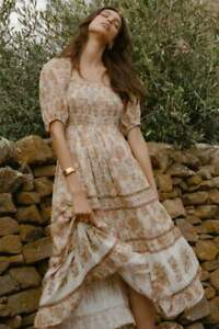 NWT Spell and the Gypsy Collective, Juniper Shirred Dress, size XS (sold out!)