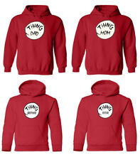 Halloween Funny Gruop Pullover Hoodie Youth and Adult - Halloween Thing Hoodie