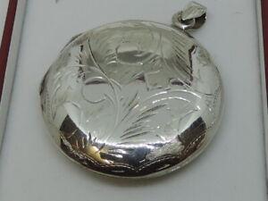 Large 925 Silver Locket