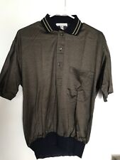 Vintage 80s Maus & Hoffman Nos Polo Golf Shirt Made In Italy Size 50