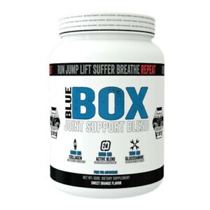 BLUE BOX 500g Glucosamin Kollagen Vitamin C Gelenkschutz Pulver Joint Support