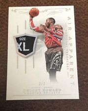 Dwight Howard Laundry Tag PATCH #3/3 2013-14 NATIONAL TREASURES