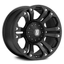 """XD Monster 18"""" Wheels W/ 295 70 18 Nitto Tires"""