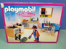 (O5336) playmobil cuisine maison traditionnelle 5303 boite ref 5336 100% cplt