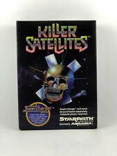 KILLER SATELLITES by Starpath for Atari VCS 2600 - NTSC - Complete!