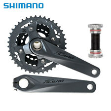 Shimano ALIVIO FC-M4050 40-30-22T Chainset 170mm 9 Speed MTB Bike Crankset w/ bb
