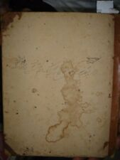 INDIA RARE -  HAND WRITTEN NOTE BOOK IN URDU - PAGES 50 & EMPTY PAGES 150