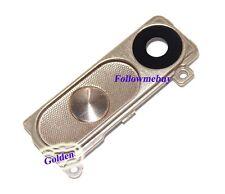 Camera Lens Cover/Frame Holder/Back Button For LG G3 D855 D850 D851 D852 Gold