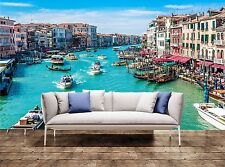 Large Wall Print Canal Grande - Venice, Italy Photo Art Wallpaper Mural Tapestry
