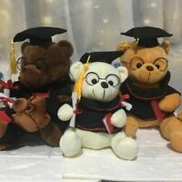 Cute Graduate Dr Bear Plush Toy Animals Graduation Gifts Doctor Home Decors Kids
