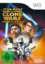 Star Wars The Clone Wars: Republic Heroes - Nintendo Wii (NEU & OVP!)