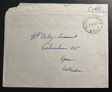 1956 Belgium Forces Military Post Office In Bensberg Germany cover