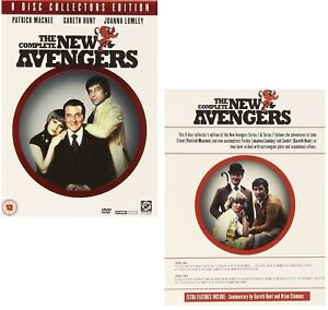 THE NEW AVENGERS 1976-1977: COMPLETE Patrick Macnee, Joanna Lumley R2 DVD not US