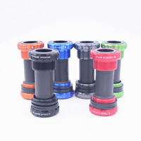 Fovno Bicycle Bottom Bracket 68/73mm MTB Bike Axis BB Aluminum BSA Crank Axis
