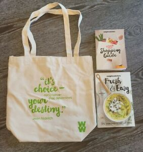 Weight Watchers Shopping Guide, Fresh & Easy Cookbook & Bag