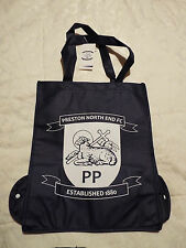Ufficiale Preston North End un shopping bag per la vita si piega via riutilizzabile Football