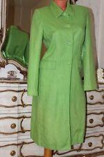 PER UNA Lime Green 100% lined  light coat / long jacket size 8