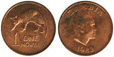 1 NGWEE 1983 AARDVARK ZAMBIA #3214A