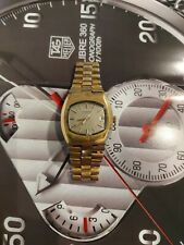 OROLOGIO LONGINES ELECTRONIC WATCH REF 1521-1 B 7212 CAL 7214 ORO/GOLD PLAQUE OR