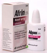 Afrin Original 0,05% Nasal spray solution 20ml- Rhinitis Sinusitis Blocked Nose