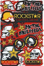 New Rockstar Energy Motocross ATV Racing Graphic stickers/decals. (st181)