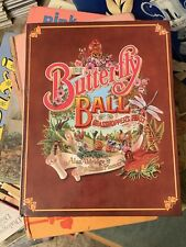 Butterfly Ball Book Vintage Children's 1970s Beautiful Illustrations