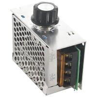 Regulateur Tension Voltage Controleur Vitesse Dimmer SCR + Coque 4000W AC 220 V5