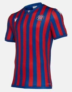 Macron Hajduk Split Trikot, rot/blau, 58118035, Größe S - XXL