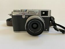 Fujifilm X100S 16.3MP Digital Camera - Silver + Leather Case & Accessories