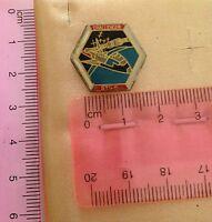 Spilletta da collezione esagonale con missile - Challenger STS - 6