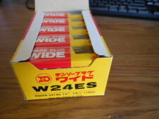 NOS New ND Spark Plug Plugs Box of 10 ND W24ES  CB360 CB450 SL350