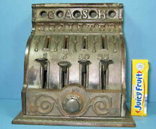 1910 Crescent Cash Register Mechanical Bank Nic/ Pl Cast Iron Orig *Sale* Ci679